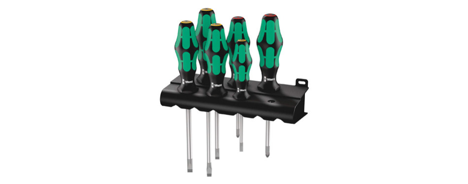 Wera Kraftform Plus 334/6 Screwdriver Set
