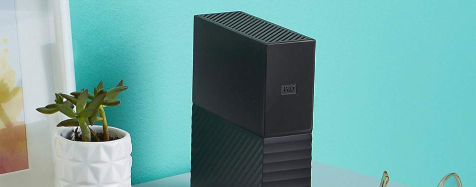 Western Digital Book Desktop External Hard Drive
