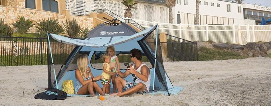 Wildhorn Quick Up Beach Shelter