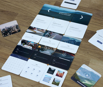Wireframe Deck UX Kit