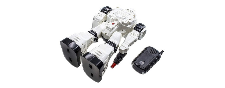 WolVol 10 Channel Police Robot Kit For Kids