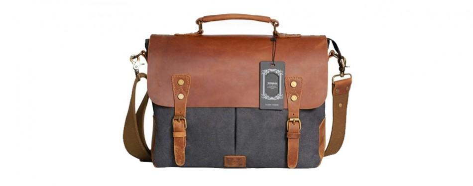 Wowbox Messenger Satchel Briefcase For Men