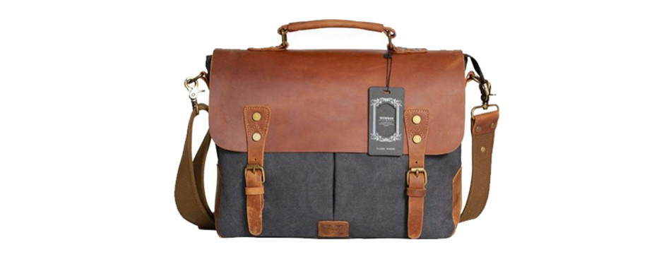 Wowbox Messenger Satchel Briefcase For Men