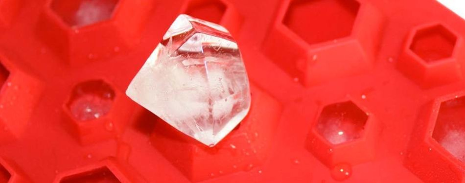 X-Haibei 3D Diamonds Ice Cube Mold