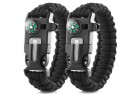 X-Plore Gear Double Emergency Paracord Survival Bracelets