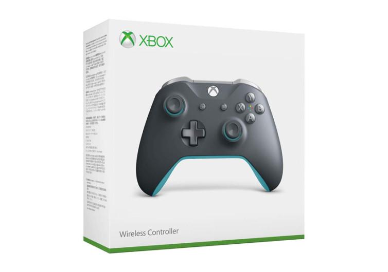 Xbox One Wireless Controller Grey & Blue