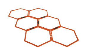 Yes4All Hexagonal Speed & Agility Rings