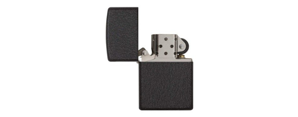 Zippo Black Crackle Lighters