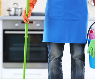 a guy's guide to spring cleaning