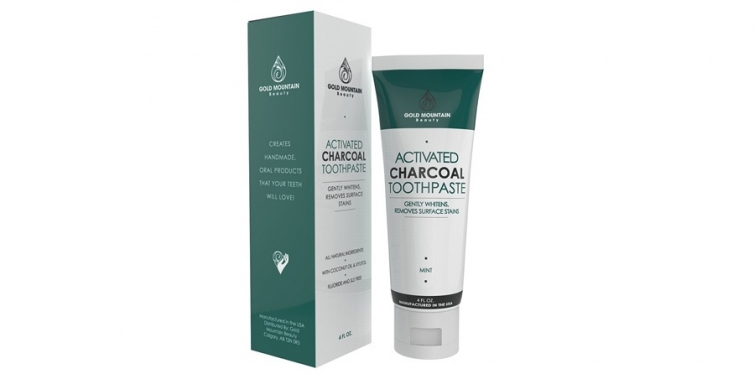 activated charcoal teeth whitening toothpaste with coconut