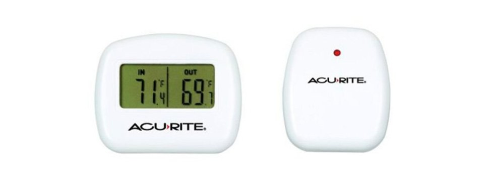 acurite 00782a2 wireless indoor/outdoor thermometer