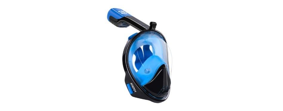 adepoy full face snorkel mask