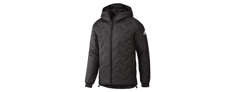 adidas men's winter running jacket