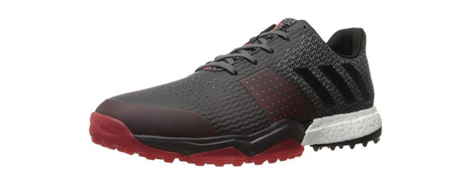 adidas adipower s boost 3 onix/c golf shoe