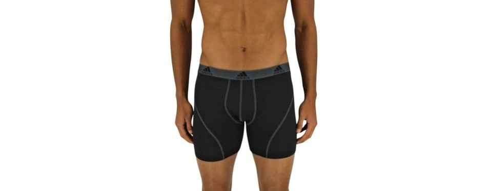 adidas men's performance climalite boxer briefs