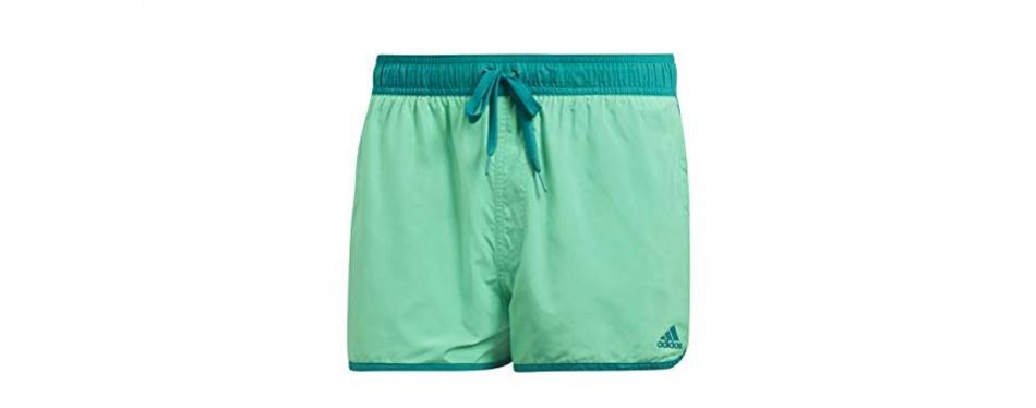 adidas men swimming trunk green pool beach quick dry