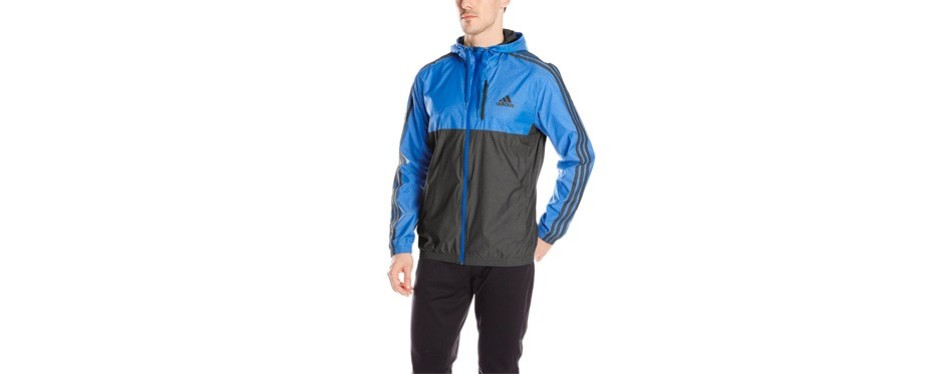 adidas men's essential woven jacket