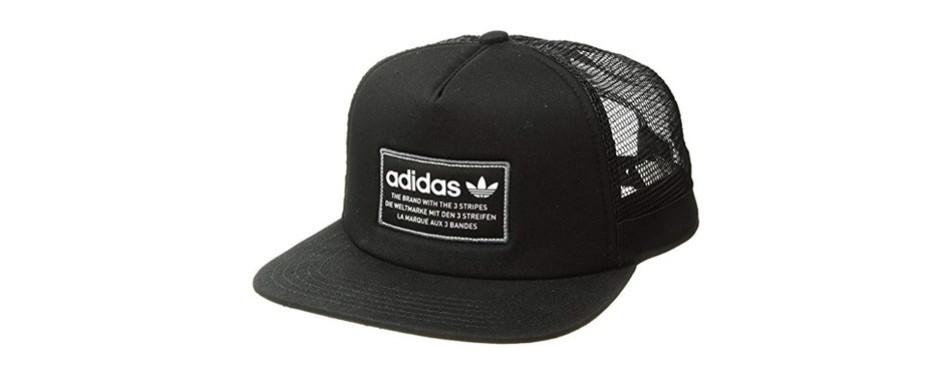 adidas men's originals patch trucker baseball cap