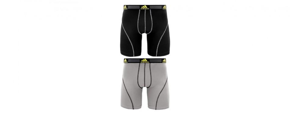 adidas men's sports performance climalite 9-inch midway underwear
