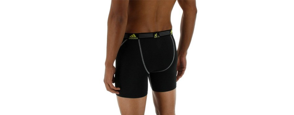adidas men's sports performance climalite 9-inch midway underwear