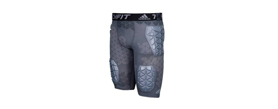 adidas techfit ironskin 5 mens padded football girdle