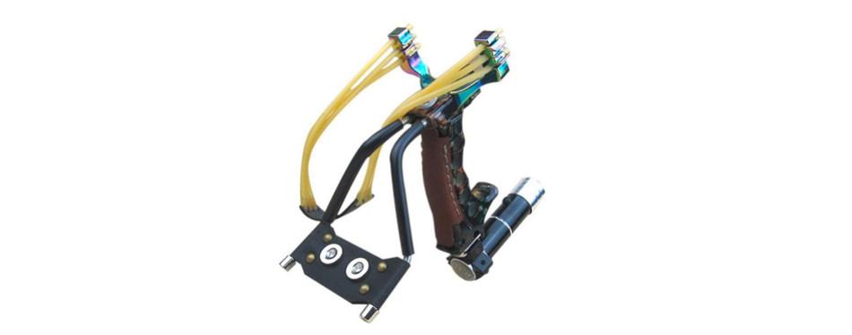 adjustable laser sight slingshot