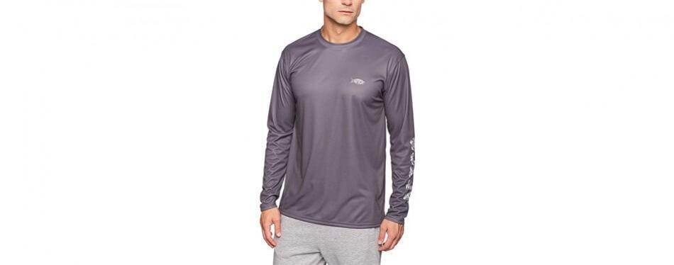 aftco jigfish performance long sleeve fishing shirt