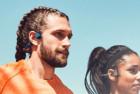 aftershokz trekz air wireless bone conduction headphones