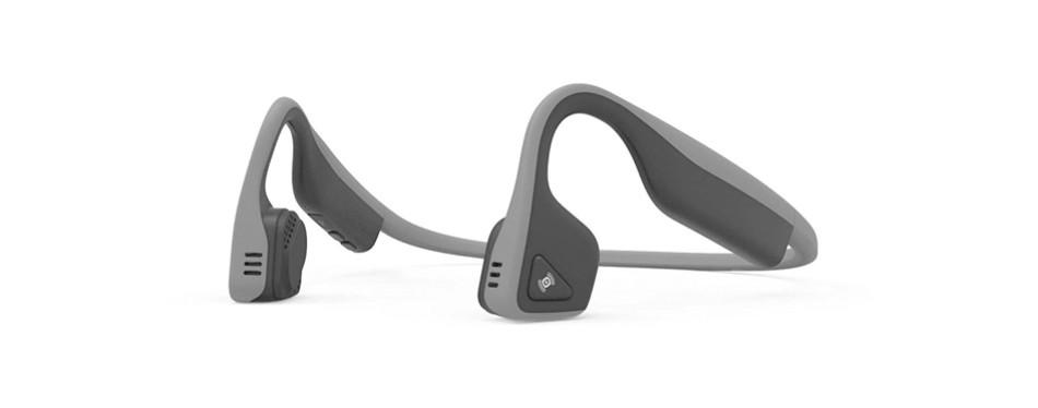 aftershokz trekz titanium mini wireless bone conduction headphones
