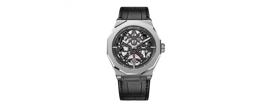 agelocer skeleton diver watch