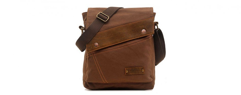 aibag vintage small canvas messenger bag