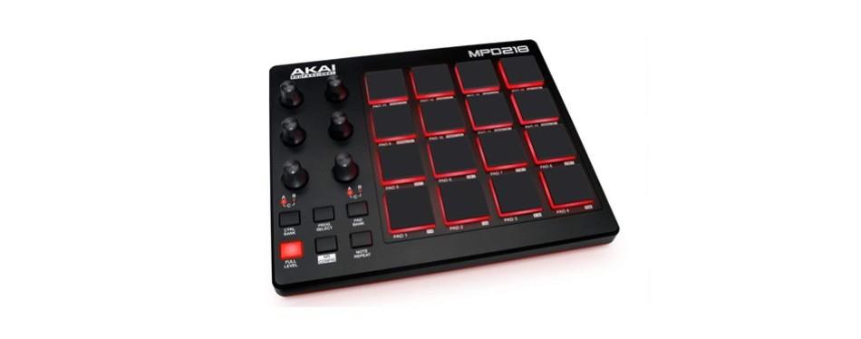 akai professional mpd218   midi drum pad controller