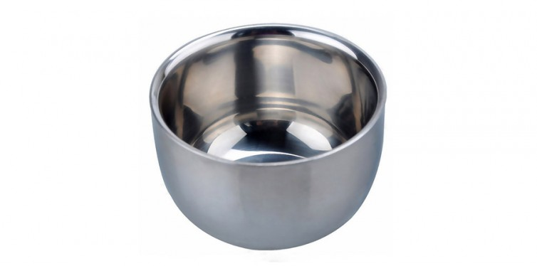 akstore stainless steel shaving bowl