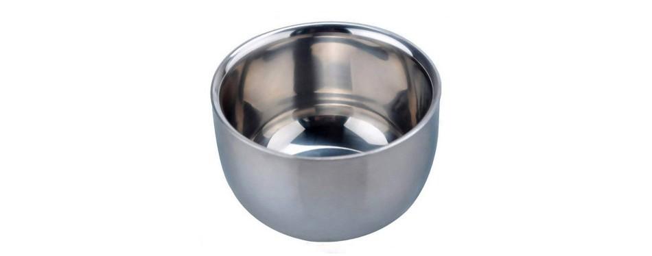 akstore stainless steel shaving bowl