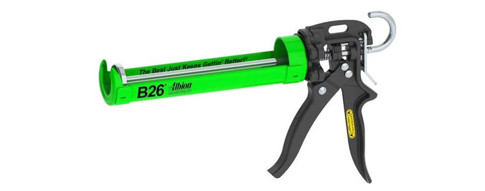 albion engineering caulking gun