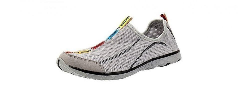 aleader mesh slip on water shoe