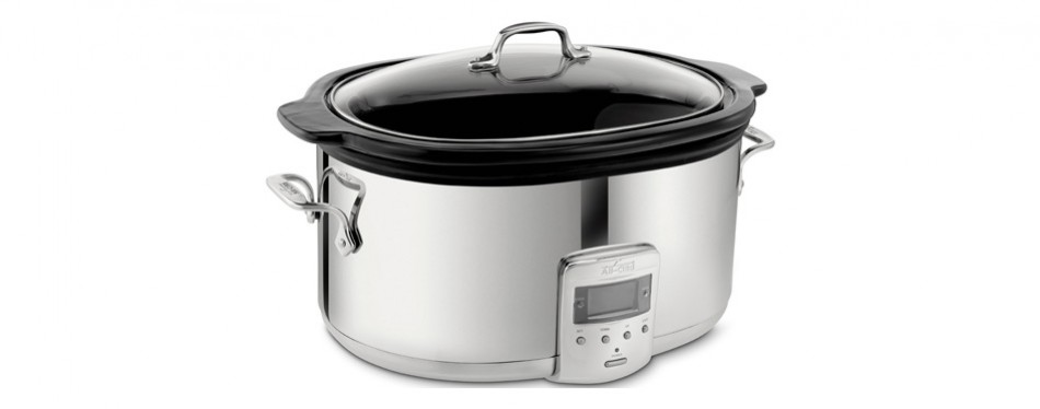 all-clad programmable oval slow cooker