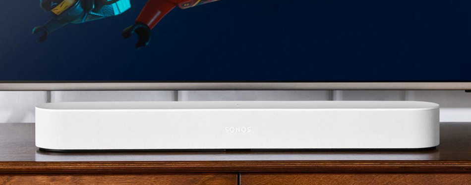 all-new sonos beam – compact smart tv soundbar
