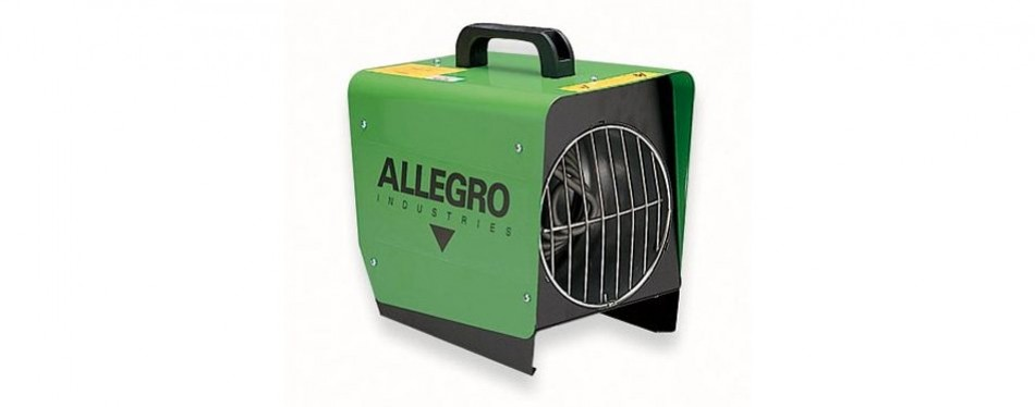 allegro industries tent heater