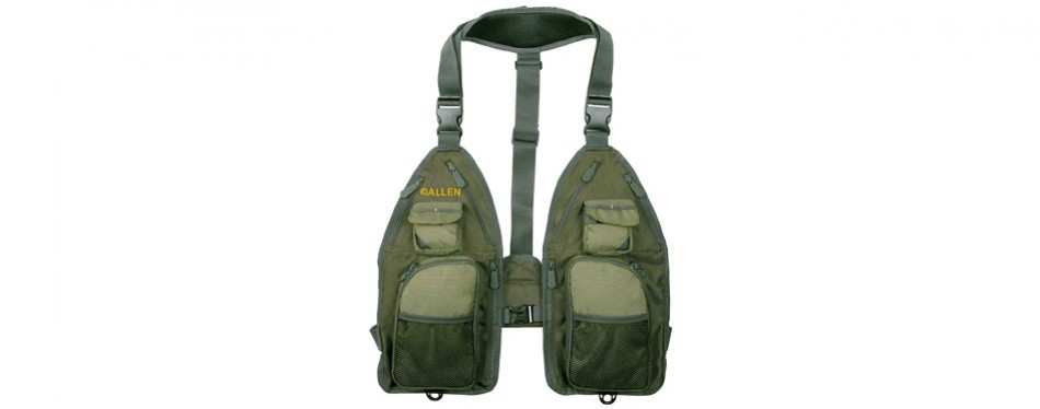 allen gallatin ultra light fishing vest