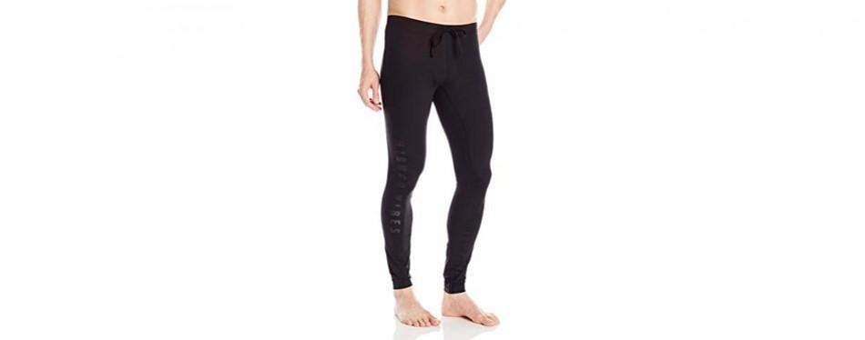 alo yoga men's warrior compression graphic yoga pants