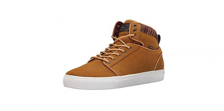 alomar suede indo shoes in spruce yellow