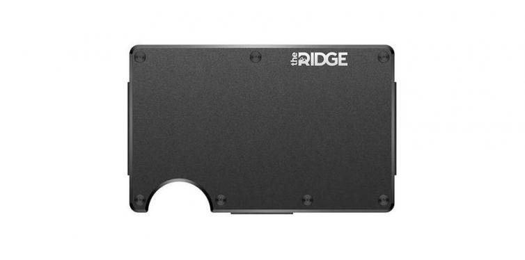 The Ridge Wallet (Aluminum + Cash Strap)