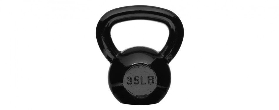 amazon basics enamel kettlebell