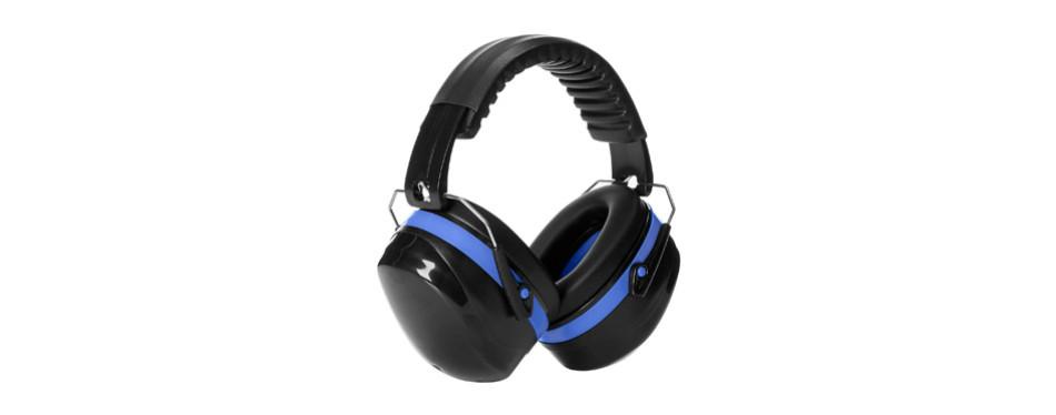 amazon basics noise reduction safety earmuffs