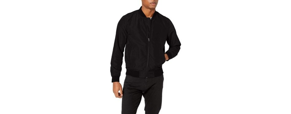 amazon essentials men's lightweight bomber jacket