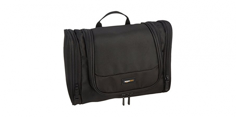 amazonbasics hanging dopp kit