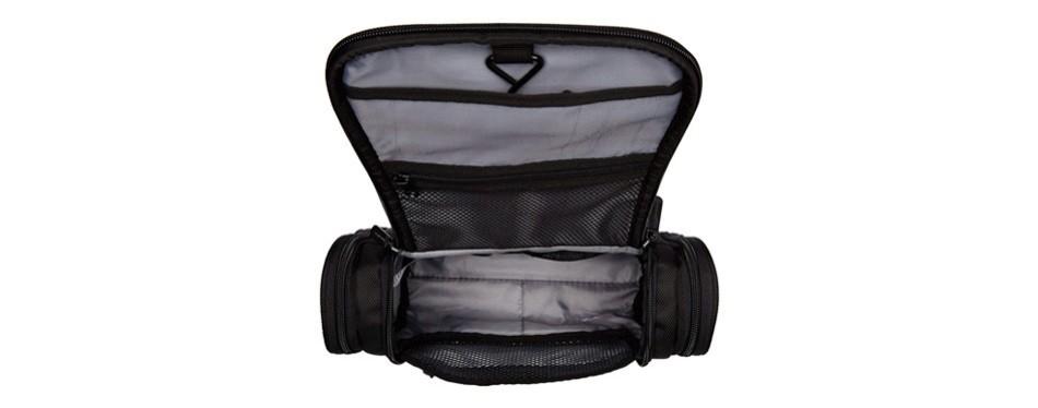 amazonbasics hanging travel toiletry kit bag