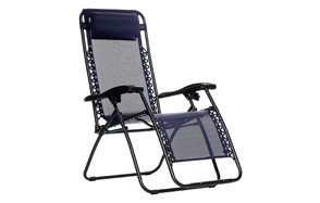 amazonbasics outdoor zero gravity lounge folding chair
