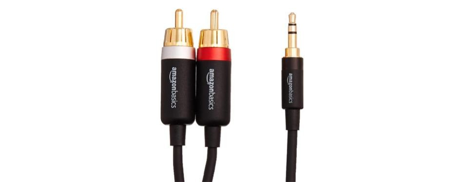 amazonbasics rca adapter
